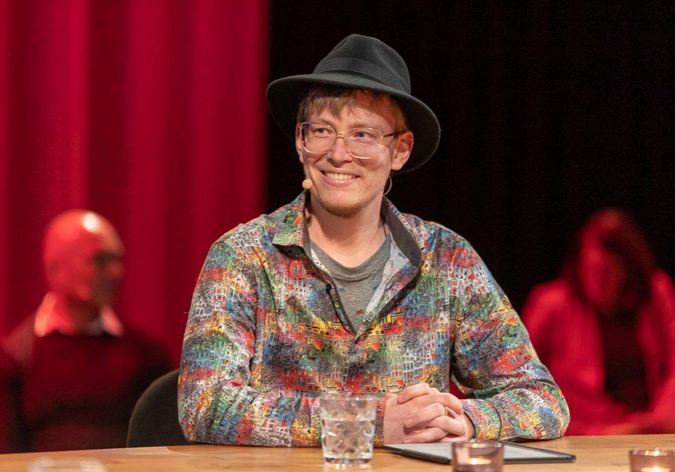 Foto van de Genderfilosoof bij LVV 2020